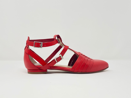 5yMedio Tania Sandal - Carmine