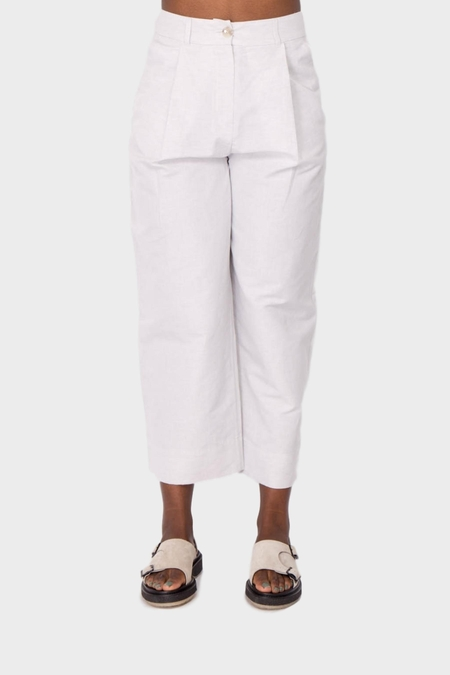 A Kind of Guise Banku Trousers - Light Stone