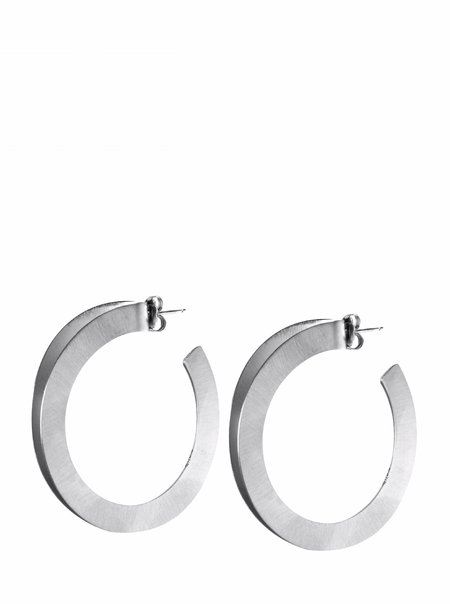 CATH•S Double Circle Earrings - Silver