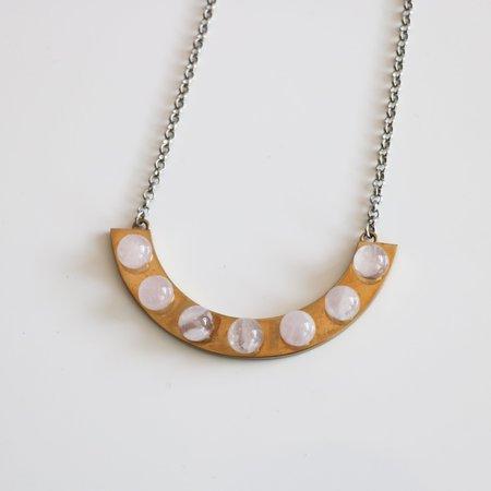 [pre-loved[ Rose Quartz Necklace