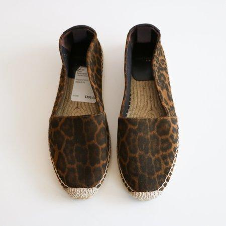 [Pre-loved] Saint Laurent Slides - Animal Print