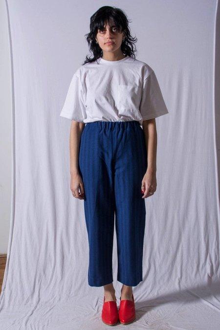 Unisex FAAN Slack Pants - Blue Stripe
