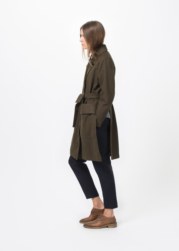 Sibel Saral Meltem Coat with Slits