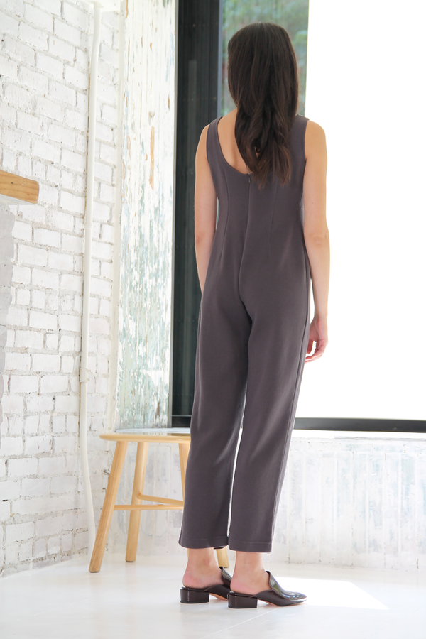 DUO NYC Vintage Seamed Jumpsuit