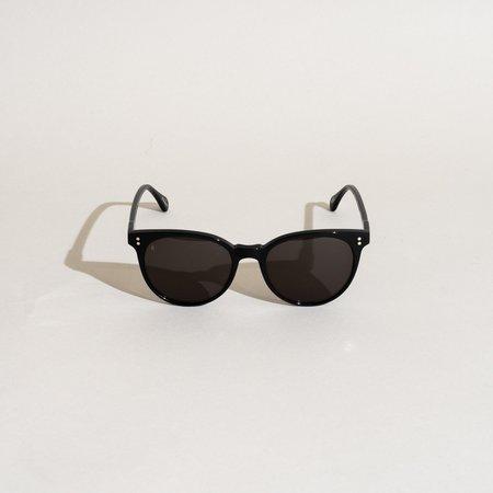 Raen Norie Sunglasses - Crystal Black