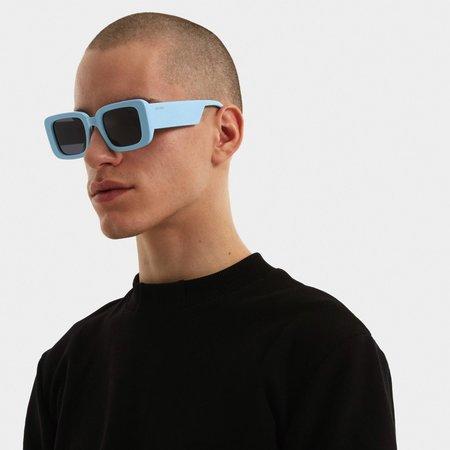 unisex Poketo Komono Avery Sunglasses - Light Blue