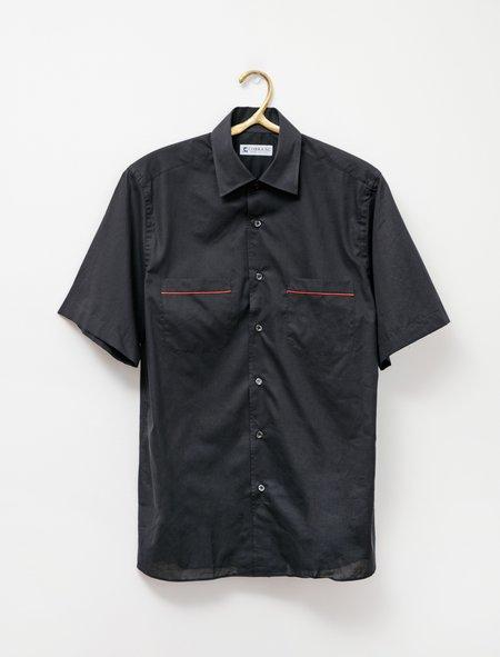 Cobra SC SS Angelo Shirt - Black Mussola
