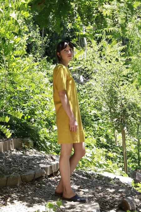 Me & Arrow Basic Dress - Mustard