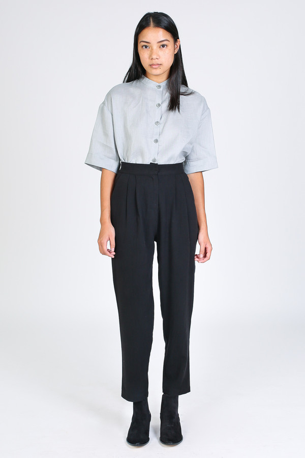 First Rite Narrow trouser in black