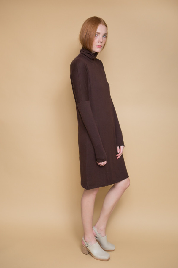 Just Female Bliss Dress - Dark Brown