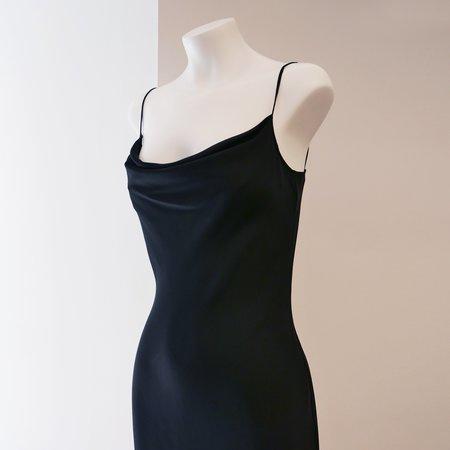 On Atlas Bias Slip Dress - Black