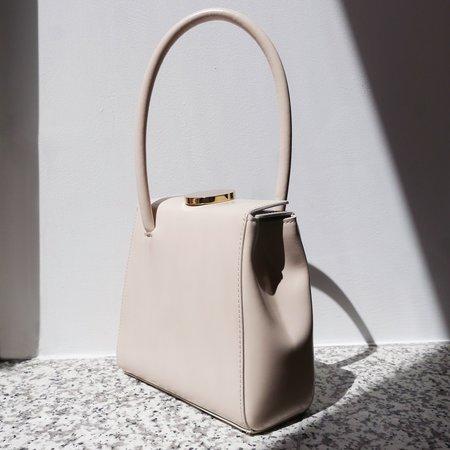 Little Liffner Mademoiselle Patent  Bag - Ivory