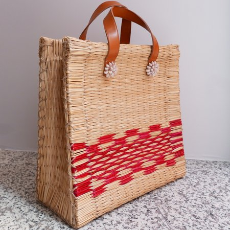 Heimat Atlántica Tote - ChaCha Red