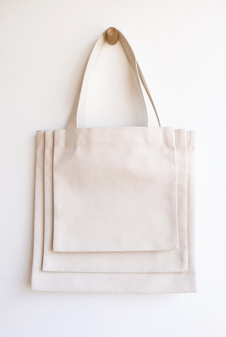 Canvas Stack Tote