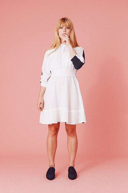 Samantha Pleet Charmed Dress - Two Tone