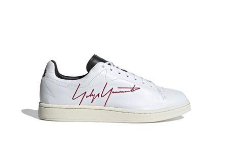 Y3 X Adidas Yohji Court Sneakers - White/Red