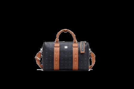 MCM Traveler Weekender Bag - Visetos Black