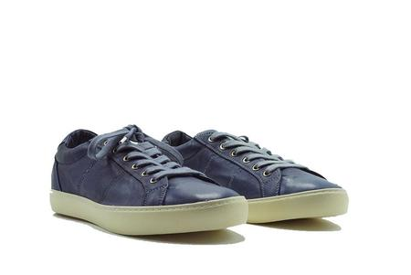 Pantofola D'Oro Del Bello Low Nappa Sneaker - T.C Navy