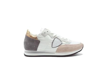 Philippe Model Tropez Mondial  Sneaker - White/Rose