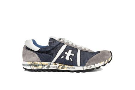 Premiata Lucy Sneaker - Navy/Grey