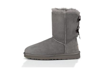 UGG Bailey Bow Boot - Grey