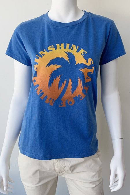 Mother Denim Boxy Goodie Goodie Tee - Sunshine State of Mind