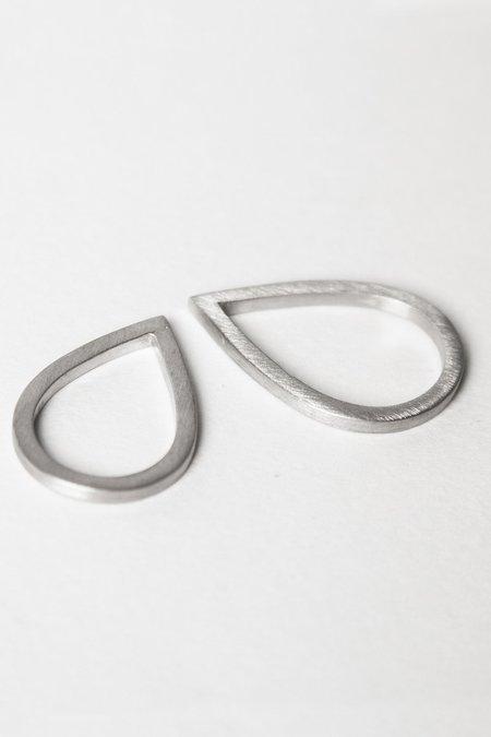 MATERIAL DROPS DROPS RINGS - silver