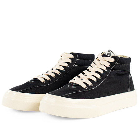 Stepney Workers Club Varden Canvas Sneakers -  Black