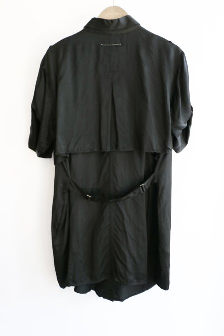 [pre-loved] Maison Margiela MM6 Shirt Dress - Black