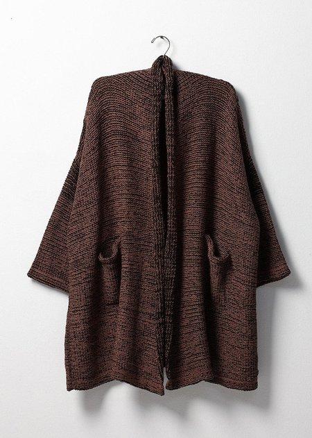 Atelier Delphine Haori Coat - Nut/Black