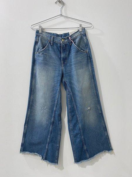 B Sides Jeans Georgia Mid High Culotte - Rose Tint