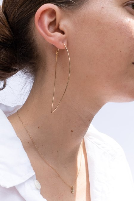 Blanca Monrós Gómez ANABELLA HOOP EARRINGS - 14K Gold