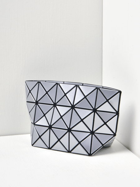 BAO BAO ISSEY MIYAKE PRISM POUCH - Silver