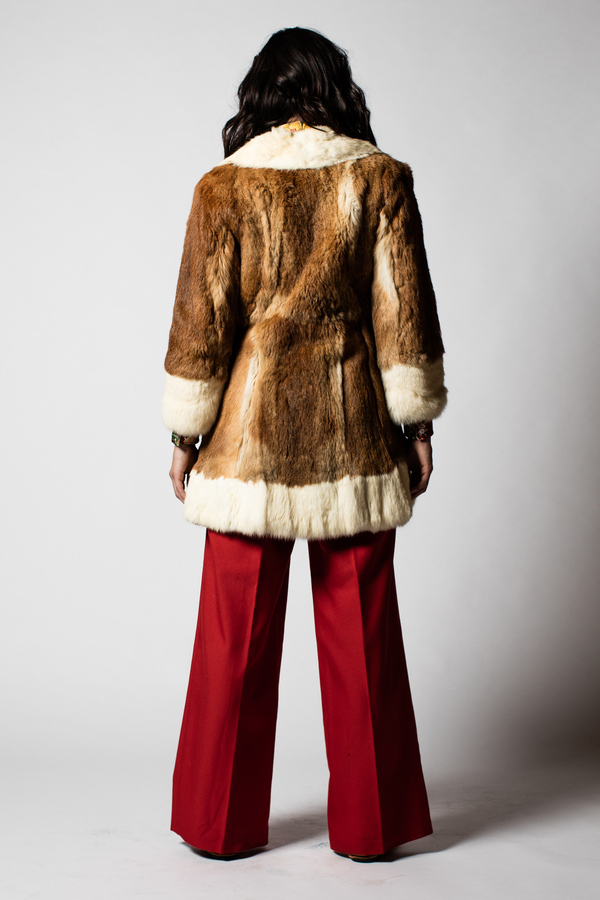 Blacksheep Vintage Ginger Fur Coat