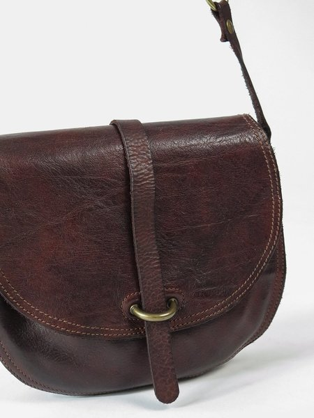 campomaggi medium side crossbody bag - moro