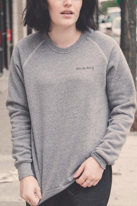 Rachel Antonoff From The Desk Of Sweatshirt