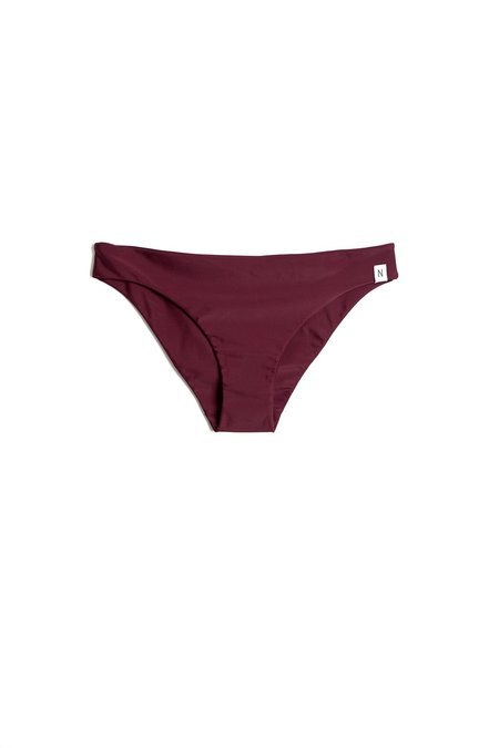 Neumühle Biasca Net Bikini Bottom - Aubergine