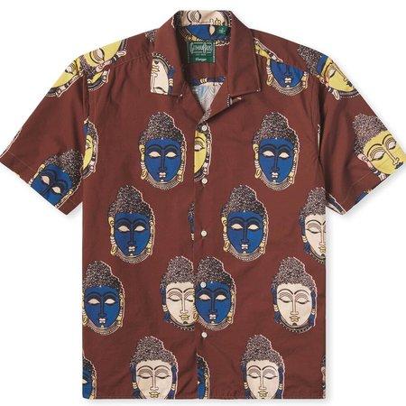 Gitman Bros. Gitman Vintage Camp Shirt - Buddha Kalamkari