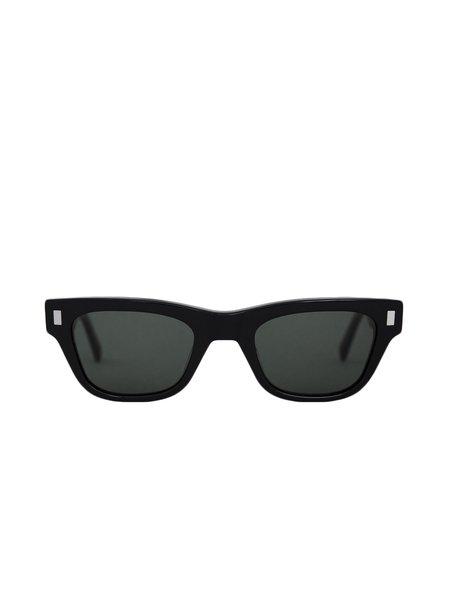 Unisex MONOKEL Aki Sunglasses - Black