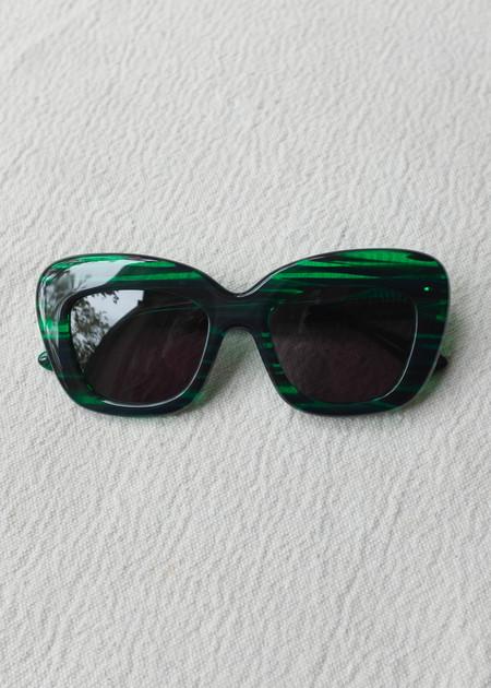 Elk Kittan Sunglasses - Emerald
