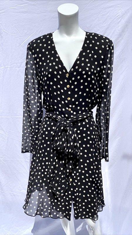 Vintage Luca Ryann Silk Sheer Dress