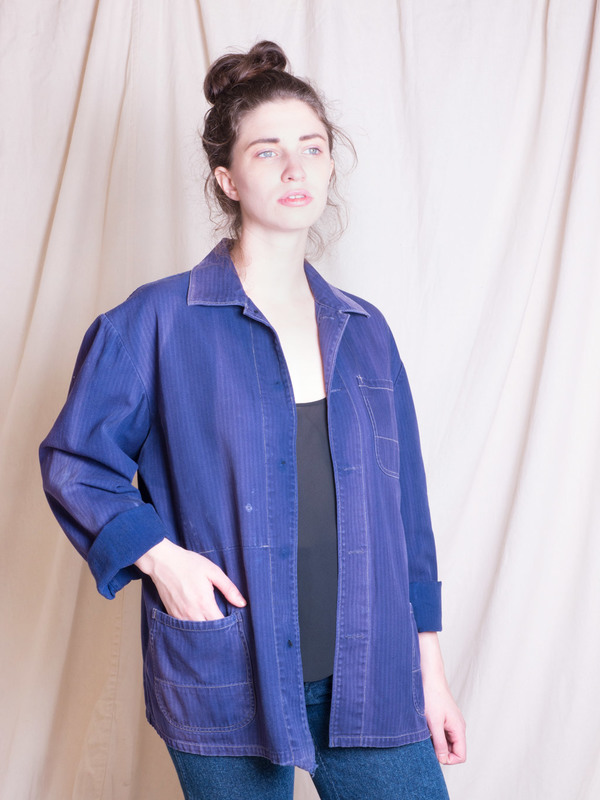 DUO NYC Vintage French Work Jacket