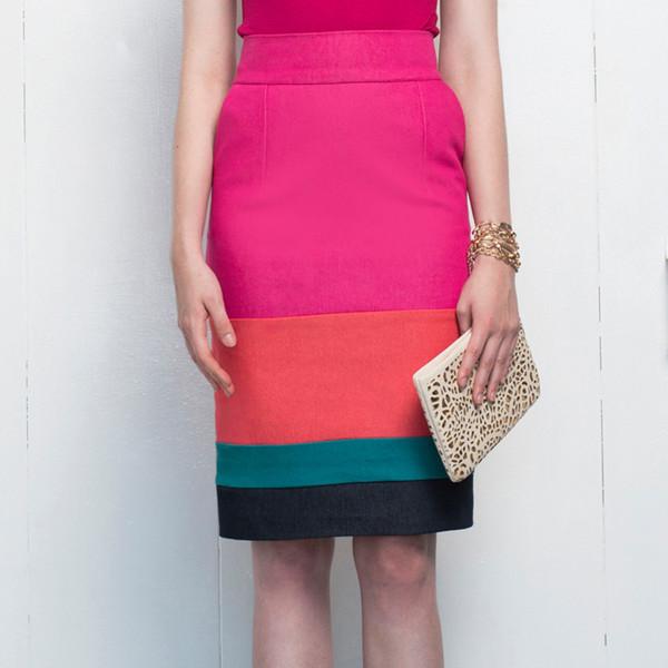Hericher Poppy Rose Skirt