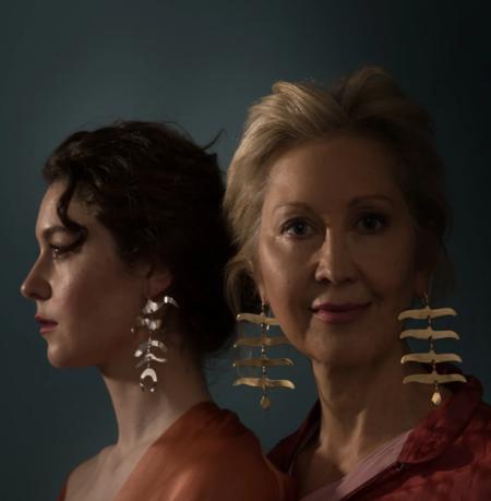 Ariana Boussard-Reifel winona single earring - Brass