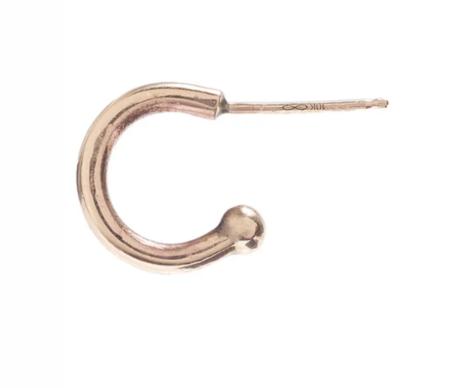 scosha a mini hoop - 10K gold