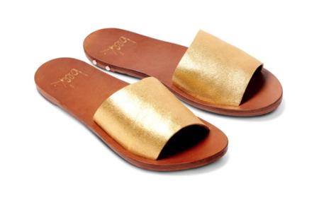 Beek Mockingbird Sandal - Gold/Tan