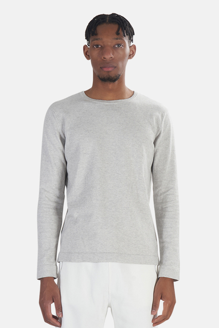 Wheelers.V Reade Long Sleeve T-Shirt - Grey