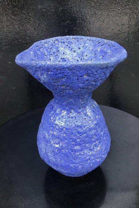 Raina J. Lee Flare Vase - Indigo