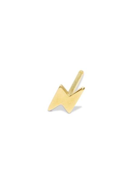 Futaba Hayashi Lightning Bolt Stud - Gold