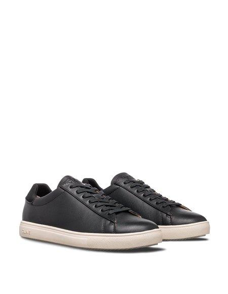 Clae Bradley Black Milled Leather